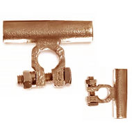 parallel copper battery terminals