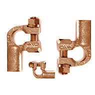 right angle copper battery terminals