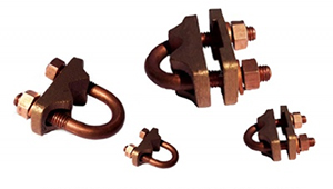 Bronze U bolt Guv Grounding Earthing Clamps