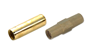 Bronze ground rod couplers
