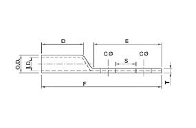 Copper Compression Lugs 2 Hole