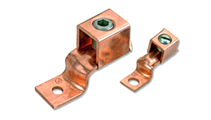 Copper Mechanical Connectors offset Tongue Terminals