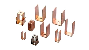 Copper Electrical Fuse Contacts Parts