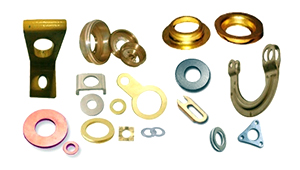 Copper and Brass pressed parts Components