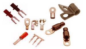 Copper Pressed Contacts Terminals